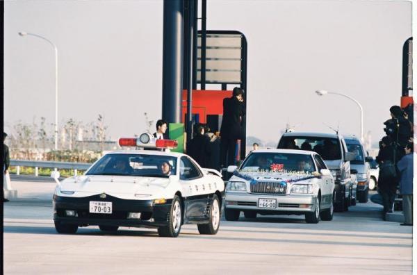 三菱GTOのパトカー=1997年12月