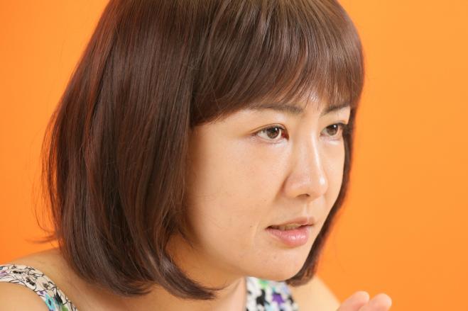 マイルドヤンキーについて語る中野信子さん=安冨良弘撮影