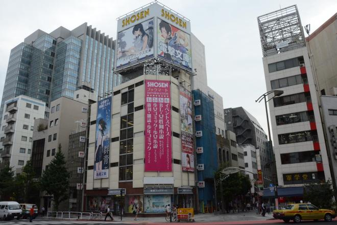 15年9月末での閉店が決まった書泉ブックマート=長谷川健撮影