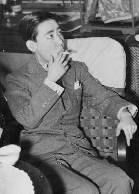 【1937年4月20日】総選挙の応援弁士として東京市内を回る川島芳子さん