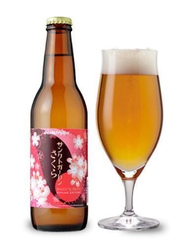 (神奈川)桜餅風味が味わえる地ビール「サンクトガーレン さくら」