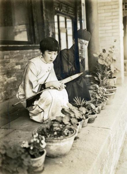 【1932年ごろ】清朝皇族粛親王の第14王女、川島芳子さん