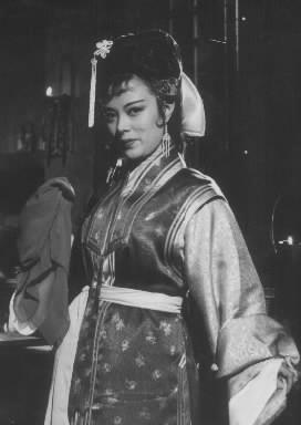 【1954年ごろ】香港映画に出演する李香蘭(山口淑子)さん