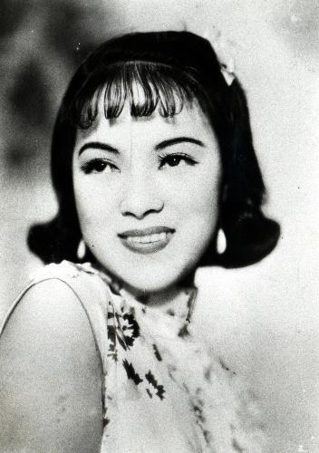 【1940年】東宝映画「支那の夜」から 主演女優の李香蘭(山口淑子)さん=東宝提供