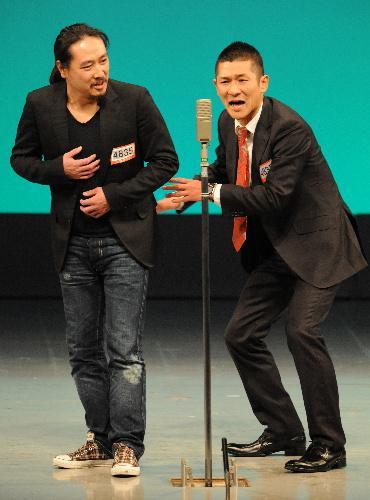 「M―1グランプリ2010」で優勝した「笑い飯」