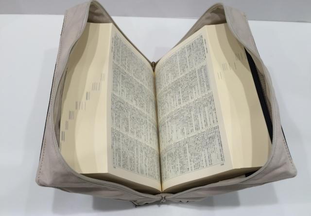 本物の「広辞苑」もすっぽり収まる大容量=ヘミングス提供