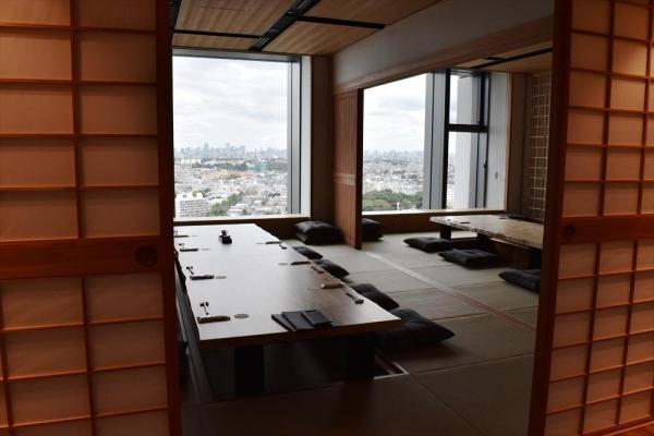 新オフィスにある和室スペース