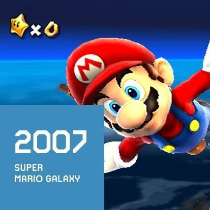 2007 SUPER MARIO GALAXY