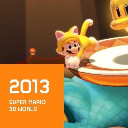 2013 NEW SUPER MARIO 3D WORLD