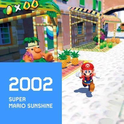 2002 SUPER MARIO SUNSHINE