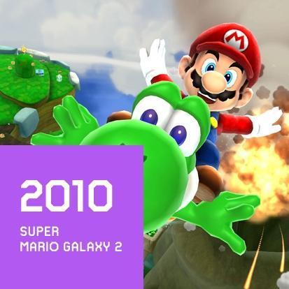 2010 SUPER MARIO GALAXY 2