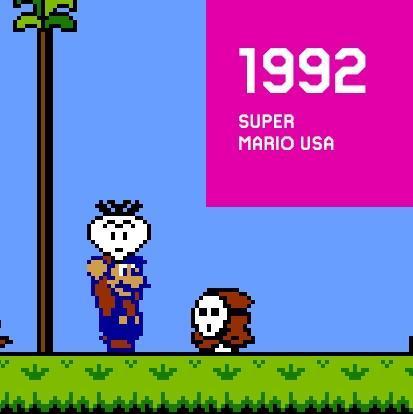 1992 SUPER MARIO USA