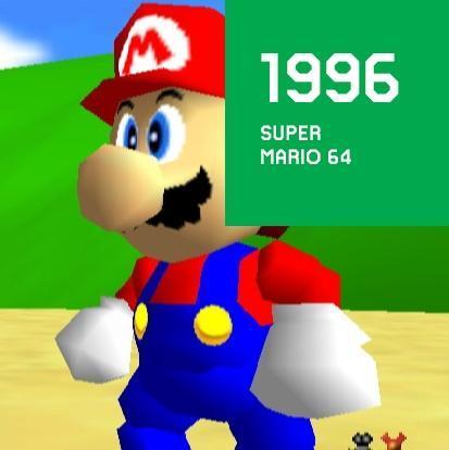 1996 SUPER MARIO 64