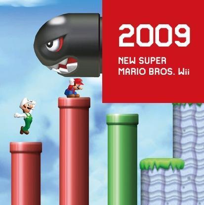 2009 SUPER MARIO BROS. Wii