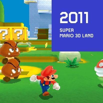 2011 SUPER MARIO 3D LAND