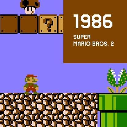 1986 SUPER MARIO BROS.2