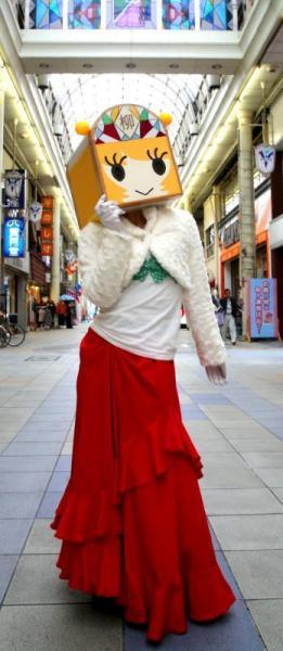 岐阜・柳ケ瀬商店街のゆるキャラ「やなな」