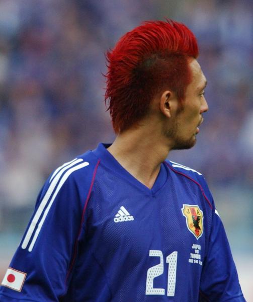 2002年日韓W杯の日本・戸田和幸選手=大友良行撮影
