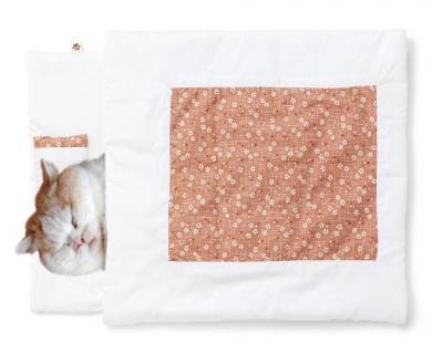 和風テイストの「猫のお布団」