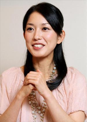 大路恵美さん=2007年12月