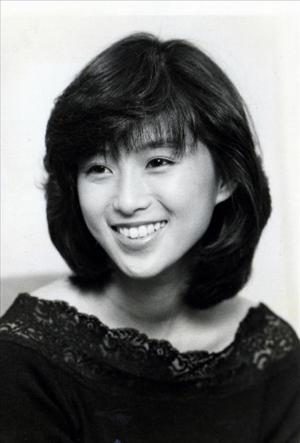 酒井法子さん=1988年10月