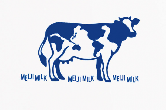 牛の模様が世界地図に!