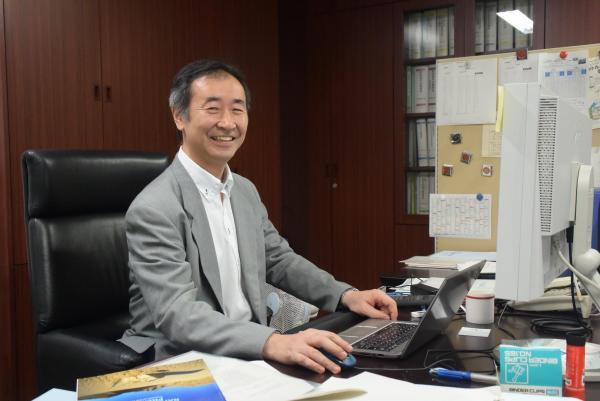 ノーベル物理学賞受賞が決まった梶田隆章さん=2015年9月18日