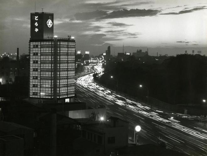 昭和39年に撮影された虎屋ビル