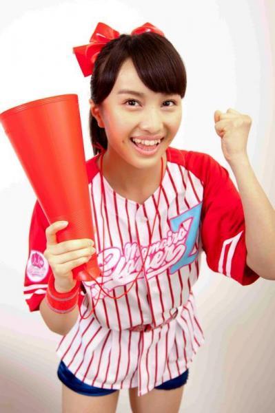 ももいろクローバーZのリーダーの百田夏菜子さん=2013年6月12日