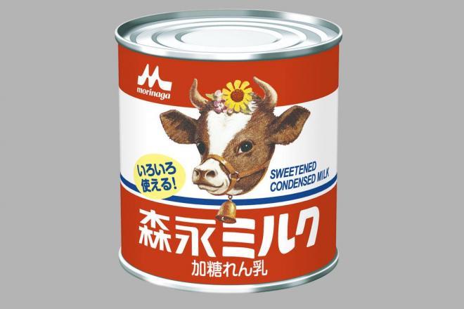 煮込むとキャラメルができるとされている「森永ミルク」