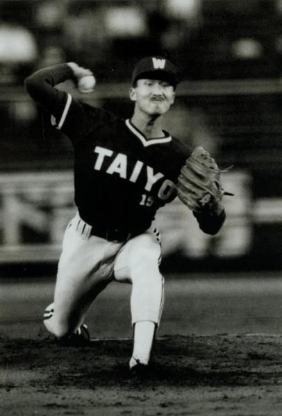 1992年阪神-大洋3回戦、完投で2勝目をあげた大洋ホエールズの盛田幸妃投手