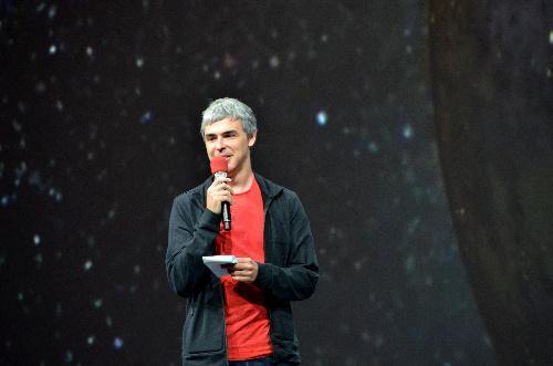 グーグルのラリー・ペイジ最高経営責任者(CEO)=2013年5月15日