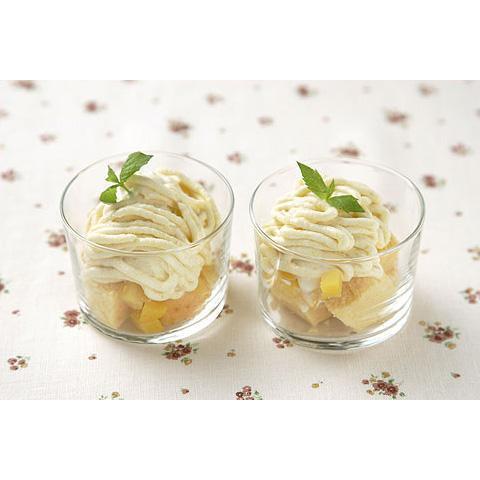 アイスとさつまいものモンブラン