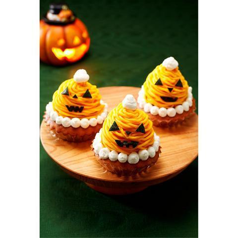 かぼちゃのハロウィン★モンブラン