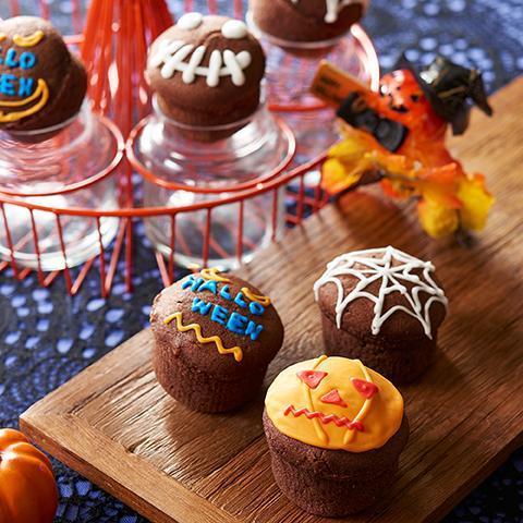 ハロウィン☆カップケーキ