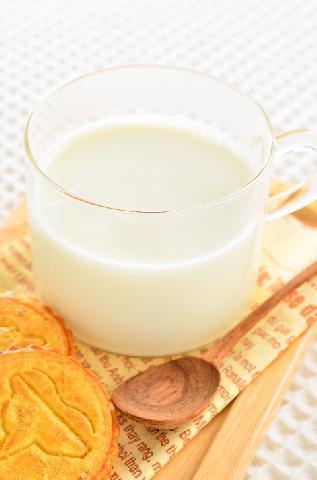 れん乳ホットミルク