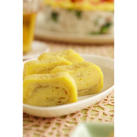 れん乳厚焼き卵