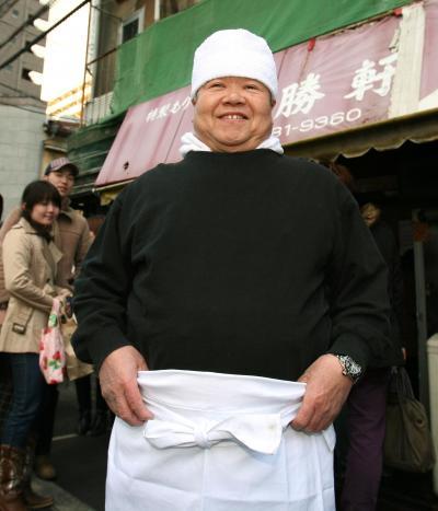 大勝軒創業者の山岸一雄さん