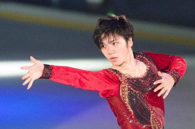 今季の活躍が期待されるフィギュア男子の宇野昌磨選手