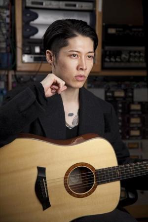 「アンブロークン」に出演したギタリストのMIYAVIさん=米ロサンゼルス、鈴木香織氏撮影