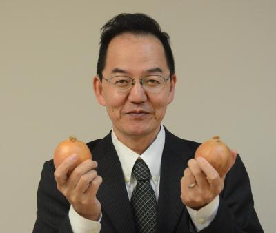 スマイルボール開発者のハウス食品グループ本社の正村典也・新規事業開発部チームマネージャー