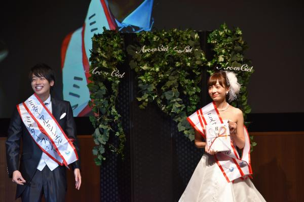 今年のミス・ミスター青山コンテストのファイナリストたち