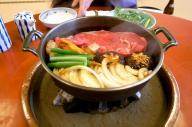 松阪牛のすき焼き。まつさかうし?まつさかぎゅう?味は変わらないけど気になる呼び名