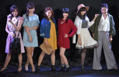 今年の「Meiji Girls Collection」に出演した6人
