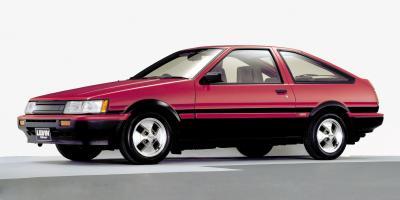 走り屋の間で根強い人気がある、AE86カローラレビン=トヨタ自動車提供