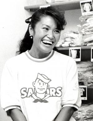 「セーラーズ」で一世を風靡した三浦静加氏=1988年6月10日
