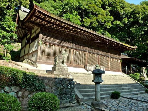 現存最古の神社建築とされる本殿=2011年11月4日