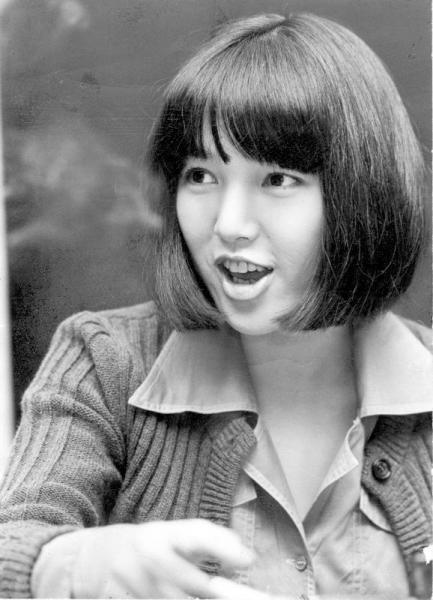 桃井かおりさん=1975年