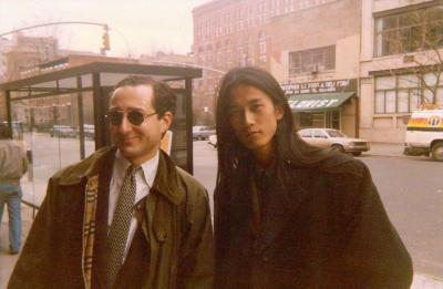 ニューヨークの大学時代の紀里谷和明