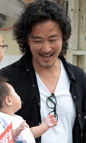 映画監督の紀里谷和明=迫和義撮影